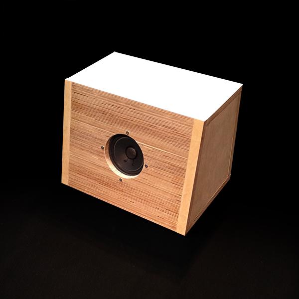 【送料無料】バーチサウンド スピーカーボックス・1組 (SP BOX)10cm用(8~13cm対応可)bx-s【KK9N0D18P】