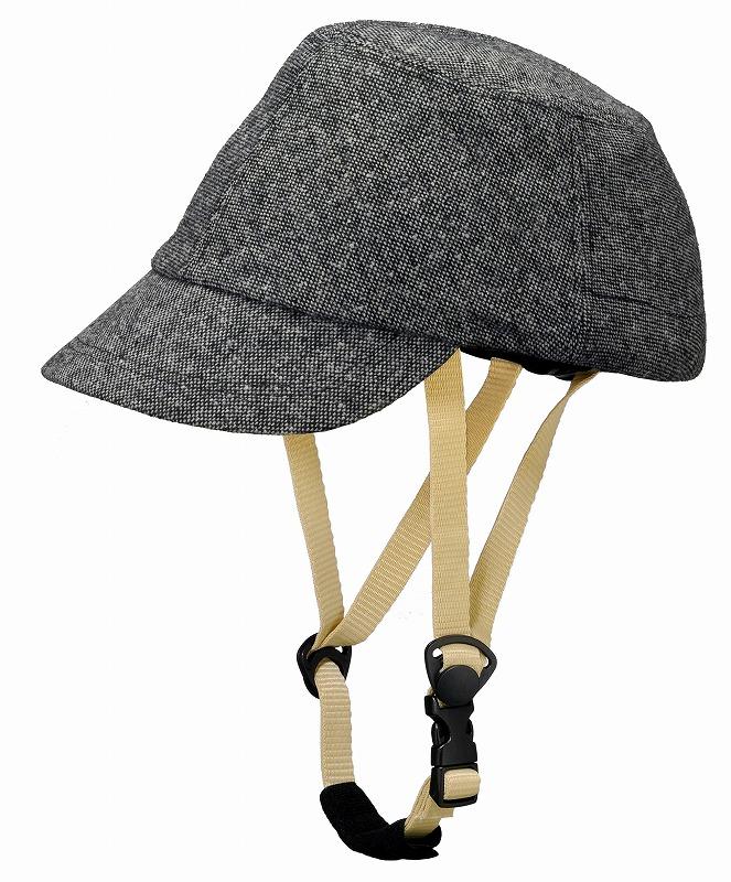 Capor/カポル ヘルメット ウォルナット ダークグレー【自転車】: