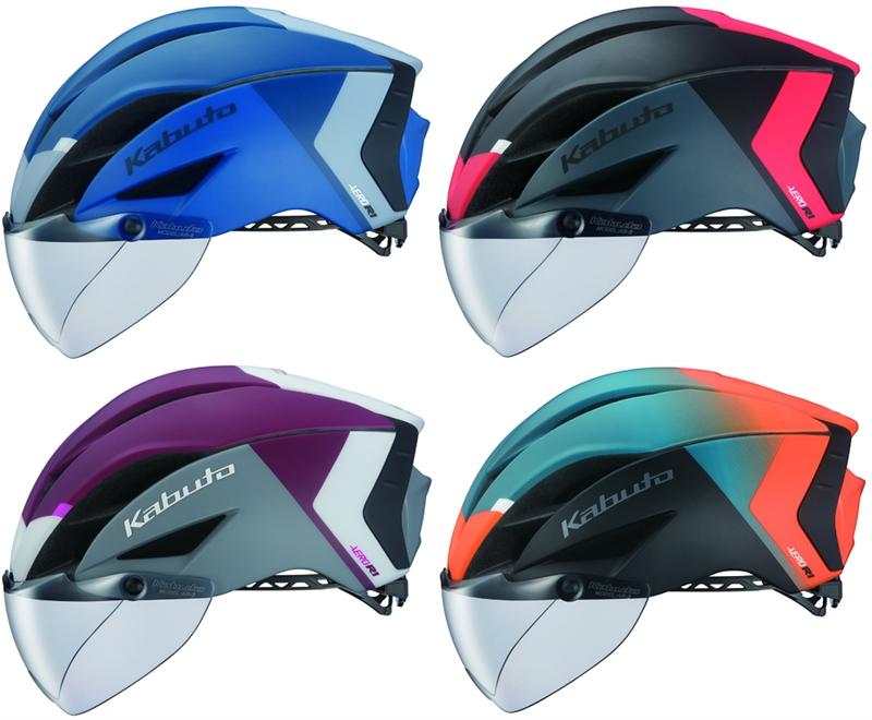 AERO-R1 エアロヘルメット S/M G-2 【送料無料】【シールド付き】【自転車】【ロードバイク】【OGK KABUTO】【サイクリング】