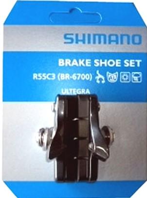 スーパーセール お買い物マラソン ポイント消化 Y8G698130 R55C3 最新 秀逸 BR-6700G ロードバイク ブレーキシュー 自転車 シマノ