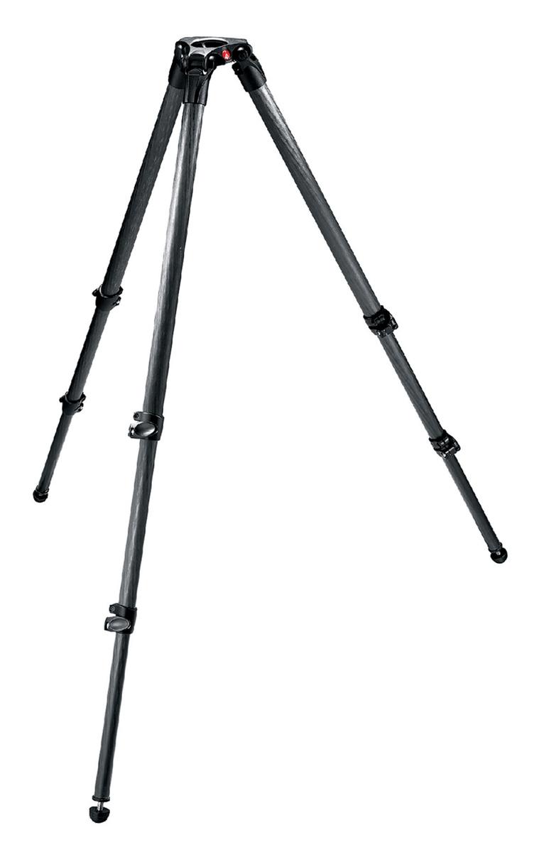 MPROカーボンファイバー 3段 ビデオ三脚 535 マンフロット 三脚 ビデオ manfrotto ビデオカメラ 撮影機材 カメラ