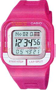 45ba6039f1 【スポーツウォッチ】カシオスポーツウォッチ5気圧防水デジタル腕時計レディース1/100
