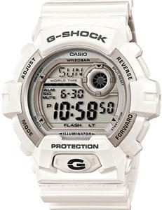 カシオ Gショック G-SHOCK スポーツウォッチ 20気圧防水 メンズ デジタル 腕時計 g-shock ホワイト 白(G-8900A-7JF) 1/100秒ストップウォッチ ワールドタイム LEDライト付き ランニングウォッチ CASIO マラソン ランニング ウォッチ 時計 ランニングウオッチ