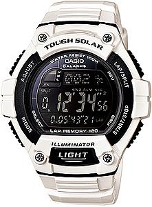 送料無料 ラップ スプリットタイムを最大120本メモリー デジタルウォッチ インターバルタイマー 送料込 腕時計 ランナーズウォッチ ストップウォッチ付き腕時計 カシオ スポーツウォッチ 10気圧防水 ソーラー メンズ デジタル おしゃれな CASIO 高品質 ストップウォッチ 白 ホワイト マラソン ランニングウォッチ 120ラップ WSD13AUP-703WHT ランニング カウントダウンタイマー 時計 海外限定 LEDライト付き