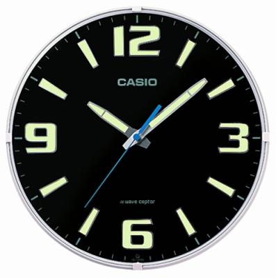 送料無料 時刻が視認できる 大きく 見やすい アラビア数字 シンプルで ネオブライト インデックス 夜間 税込 静かな 秒針停止機能 カシオ 電波時計 壁掛け時計 アナログ 掛け時計 お得クーポン発行中 ホワイト シンプル 文字盤 おしゃれな 音がしない 電波掛時計 白 ブラック 黒 秒針 CASIO ウォールクロック CL15JU68