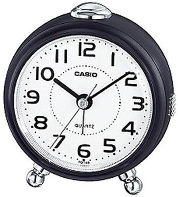 送料無料 市販 4段階で鳴る 人気の製品 電子音アラーム マイクロライト 付き 卓上 置時計 3針 デスクトップクロック カシオ アナログ 目覚まし時計 コンパクト おしゃれな ダークブラウン 濃茶 ライト付き SCL17NV01 見やすい ホワイト 旅行用 アラビア数字 アラーム トラベルクロック スヌーズ機能 CASIO 小型 シンプル 白 文字盤 置き時計