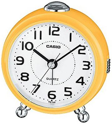 送料無料 4段階で鳴る 電子音アラーム 夜間でも見やすい ライト付き 特価キャンペーン 卓上 置時計 3針 デスクトップクロック カシオ 置き時計 アナログ 目覚まし時計 コンパクト おしゃれな アラビア数字 アラーム 小型 イェロー 黄色 白 旅行用 スヌーズ機能 トラベルクロック ストア CASIO ホワイト 文字盤 見やすい SCL17NV03 シンプル