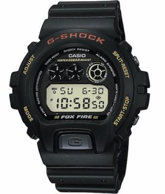 カシオ Gショック G-SHOCK スポーツウォッチ 20気圧防水 デジタル 腕時計 (DW-6900B-9) ストップウォッチ カウントダウンタイマー EL ライト付き ランニングウォッチ カシオ CASIO マラソン ランニング 時計 アウトドアウォッチ