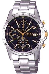 セイコー スピリット限定モデル スポーツウォッチ 10気圧防水 メンズ アナログ 腕時計 ダイバーズ(SBTQ043)スクリューバック ストップウォッチ タキメーター 日付 カレンダー ルミブライト付き マラソン ランニング 時計 ダイバーズウォッチ