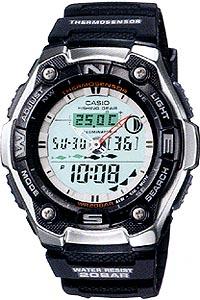 カシオ スポーツウォッチ 20気圧防水 デジタル アナログ 魚釣り 腕時計 (SD9OC02) ストップウォッチ カウントダウンタイマー 月齢 ムーンデータ 温度計 ELライト付き フィッシングギア 釣り 時計 CASIO マラソン ランニング 時計 アウトドアウォッチ