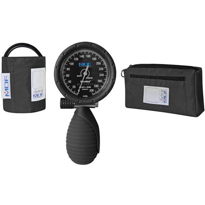 MDF トラディショナルパームアネロイド血圧計ープロフェッショナル血圧モニター - ブラック (MDF848IC11)
