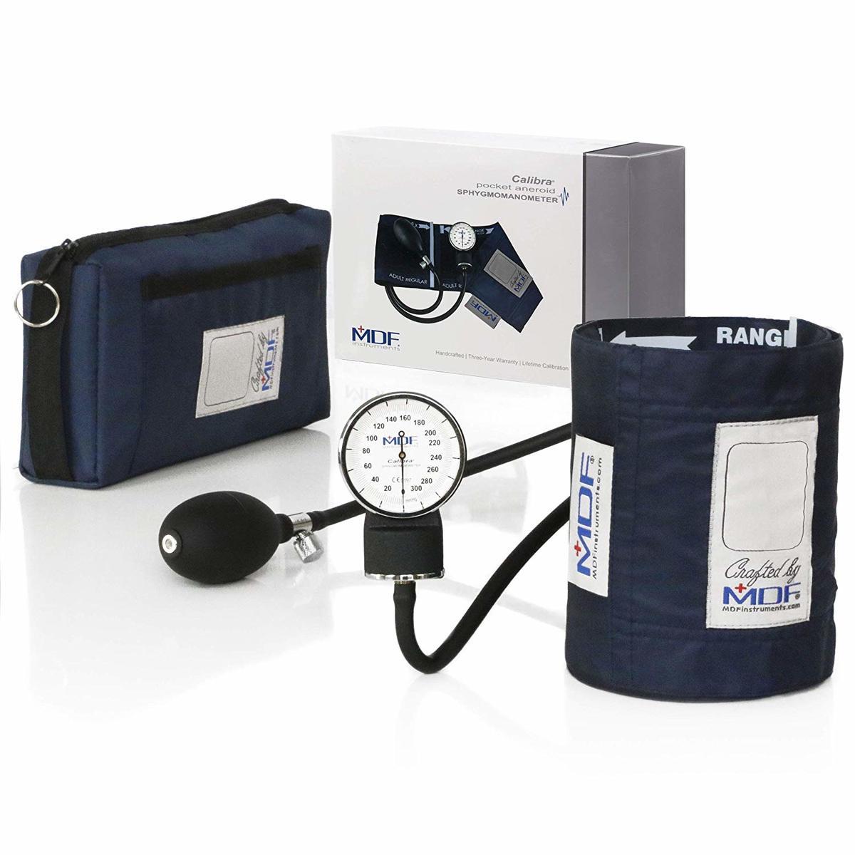 ネイビー MDF808M04 MDF 大決算セール アネロイド血圧計 評価 ネイビーブルー