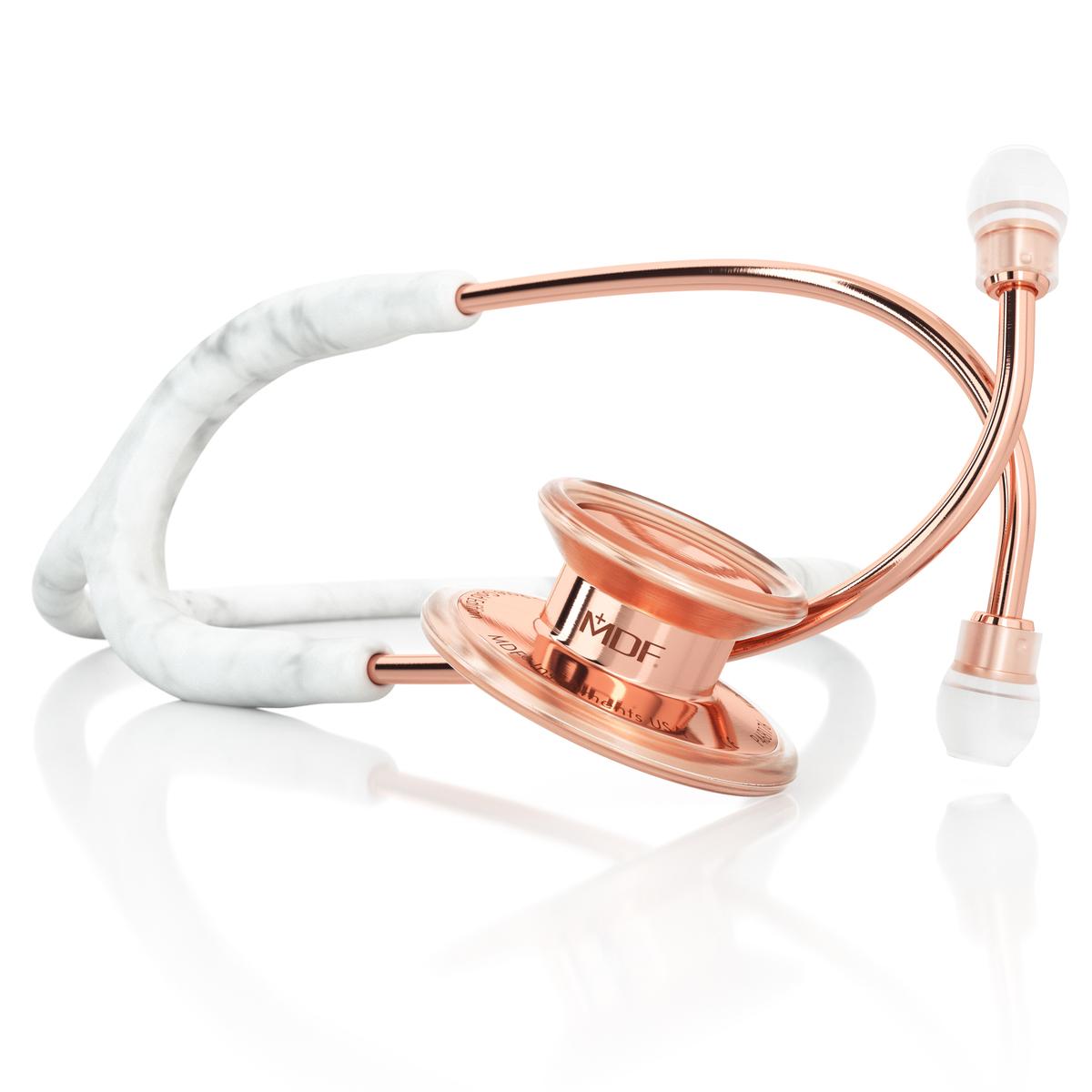 【限定モデル】MDF 聴診器MDF777-MBRG(マーブルローズゴールド)スタンダードモデル 限定カラーモデル
