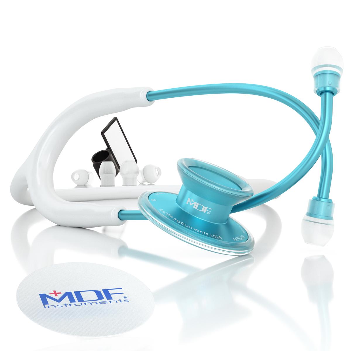 アクア-ホワイト MDF747XPAQ29 コストパフォーマンスに優れた軽量モデル 店舗 超目玉 MDF聴診器