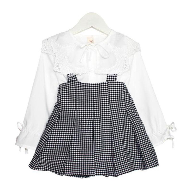 子供服 女の子 子供 シャツ スカート 上下2点セット 子供服 長袖 可愛い 春秋  トップス ベビートップス 可愛らしさ満載 お姫様ドレス ベビー服