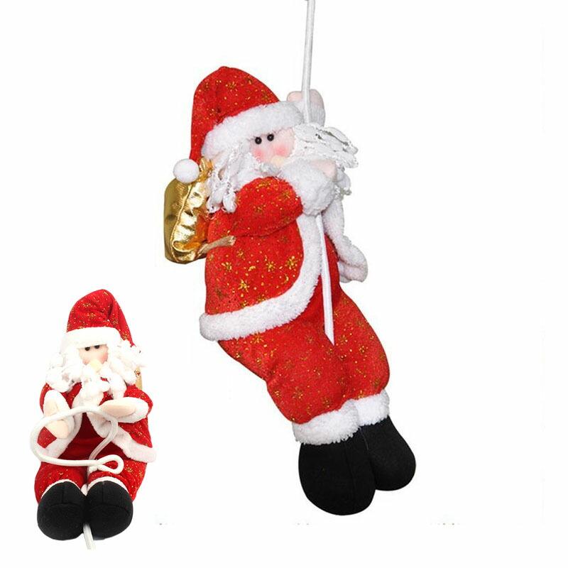 サンタクロースペンダント人形 クリスマスツリー飾り ドアの装飾 吊り装飾用 定番 品質検査済 3D立体感 クリスマス 単品 ドアオーナメント