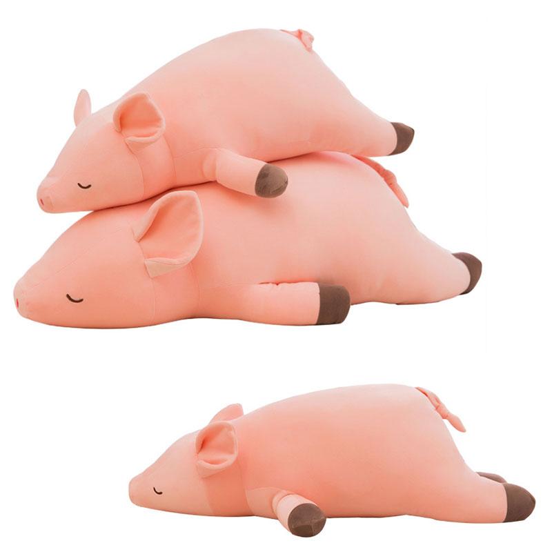 素敵な ぬいぐるみ 抱き枕 だき枕 腰枕 クッショ 抱きまくら 豚 ふわふわ かわいい プレゼント おもちゃ お祝い 子供 お誕生日 赤ちゃん 100cm, 卸団地 042780e5