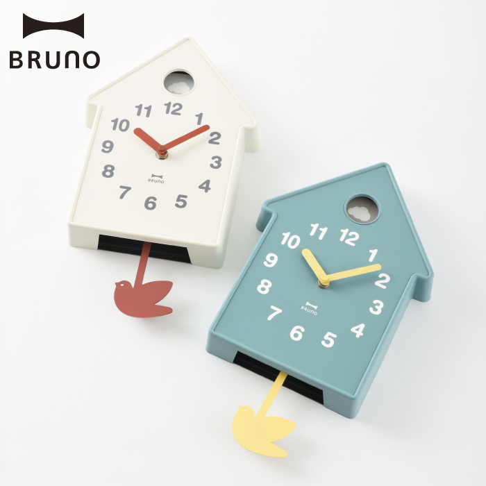 Bruno Bird Mobile Clock Pendulum Wall The Simple Design Natural North Europe Taste Nursery Bedroom Interior Gift That Joke
