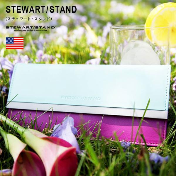 STEWART/STAND(スチュワート・スタンド)クラッチ・ウォレット : 財布 長財布 レディース 小銭入れ レザー スキミング防止 スリム 薄い 軽い 軽量 プレゼント ギフト