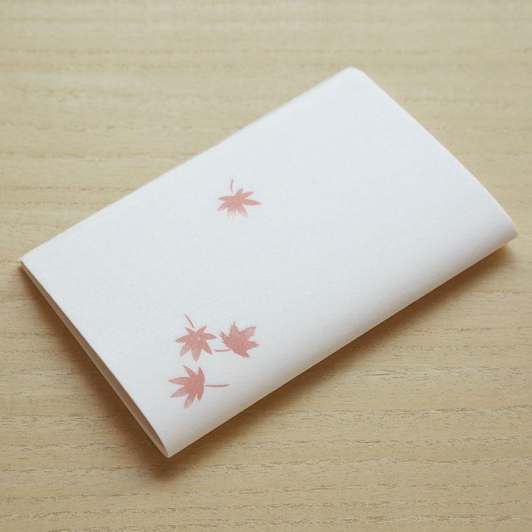 送料無料新品 めでたや季節の和紙懐紙 秋のもみじ 茶道 毎日激安特売で 営業中です 紅葉 懐紙 和菓子