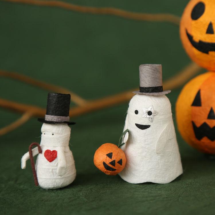 めでたや和紙 おばけ かぼちゃ ランタン ハロウィン 全品最安値に挑戦 年末年始大決算 ミイラ男 パーティー