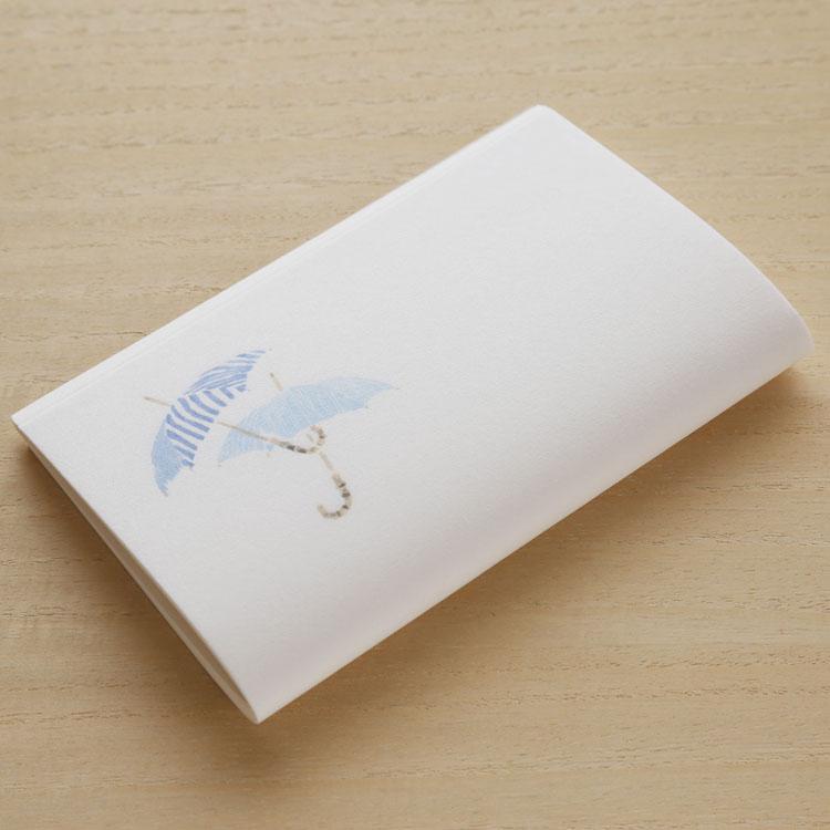 めでたや和紙 季節の懐紙 傘 大規模セール 初夏 かさ 直営店 茶道 懐紙 和菓子
