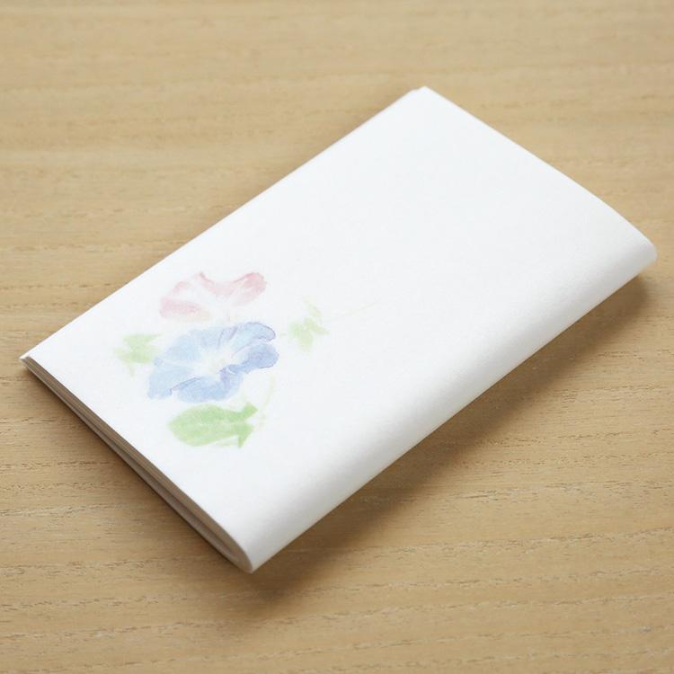 めでたや季節の懐紙 和紙 茶道 懐紙 新品 送料無料 和菓子 在庫一掃 夏の朝顔