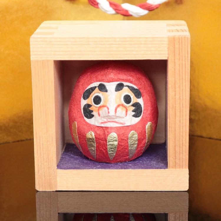 めでたや和紙 誕生日プレゼント 置物 合格祈願 お祝いごと お年賀 お歳暮 置き飾り 絶品 福ます だるま