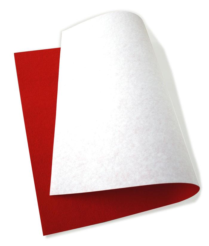 和紙 折形 合せ揉み紙 紅