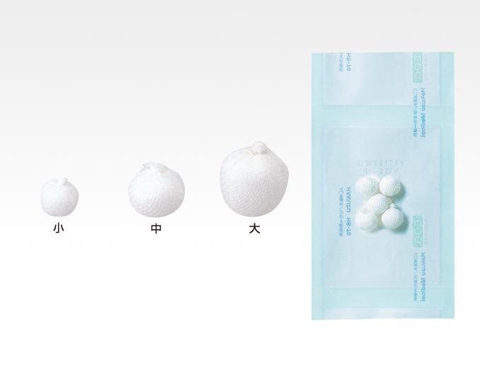 ガーゼボール 小・100球袋入【一般医療機器】