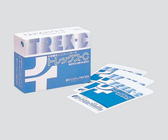 非固着性シリコーンガーゼ (トレックスC)No.3200×70mm100枚/箱