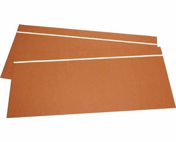 階段用すべり止めシートIIブラウン(蓄光ライン入)サイズ/幅21×長さ47×厚さ0.08cm