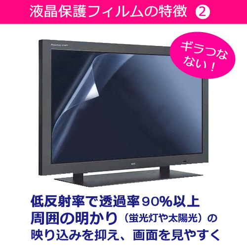 SONY BRAVIA KDL-24 W600AX [24] blue lights cut reflection prevention LCD  protection film fingerprint prevention bubble-less processing screen