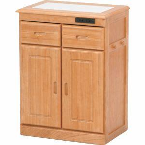 天然木キッチンカウンター<幅52>