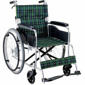 アルミ製ノーパンク車椅子