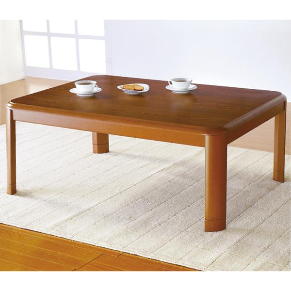 継ぎ脚家具調こたつテーブル<長方形80×120>