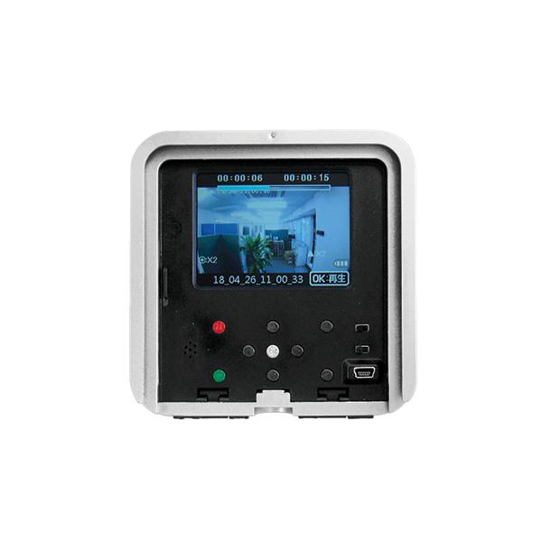 液晶モニター付センサーカメラ