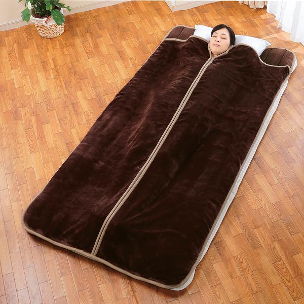 寝袋タイプ カンガルー敷きパッド<2色組>