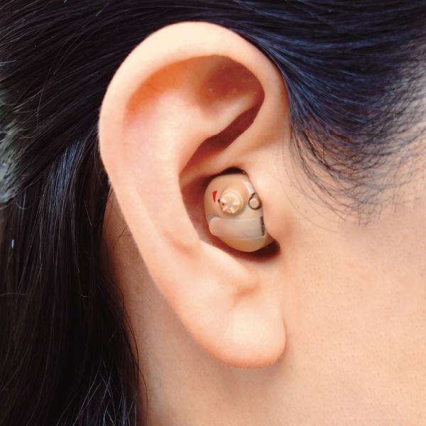 実物 ニコンの高性能デジタル補聴器 ブランド激安セール会場 ニコン エシロール デジタル耳あな型補聴器 2個組 右耳用 左耳用