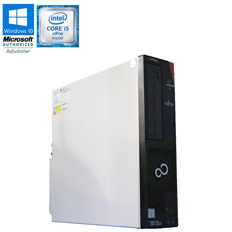 先進の第6世代のCore i5vProモデル HDD50GB搭載 中古パソコン 90日保証 送料無料 ※一部地域を除く FUJITSU デスクトップパソコン 購入 お買い得 中古 デスクトップ パソコン 富士通 ESPRIMO D956 M 初期設定済 Windows10 Core 3.20GHz USB3.0 在宅勤務 vPro メモリ4GB DVDマルチドライブ 6500 中古PC HDD500GB i5