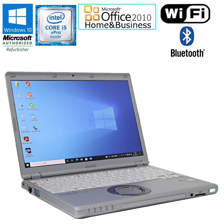 ワード エクセル 公式ストア アウトルック パワーポイントが使えるマイクロソフトオフィス2010付 SSD搭載モデル 先進の第6世代Core i5 中古パソコン 90日保証 送料無料 一部地域を除く 在庫わずか メモリ8GB SSD256GBモデル 中古 爆売り Microsoft Office Windows10 CF-SZ5 note WU vPro Let's Panasonic Home 6300U セット 12.1型ワイド Core ノートパソコン 2.40GHz Business 2010