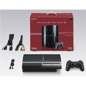 【中古】[本体][PS3]PLAYSTATION 3 プレイステーション3 HDD40GB クリアブラック(CECH-H00)(20071111)