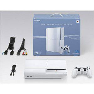 【中古】[本体][PS3]プレイステーション3 PlayStation3 HDD40GB セラミック・ホワイト(CECH-H00CW)(20071111)