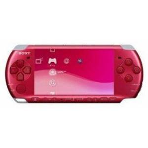 【中古】[本体][PSP]プレイステーション・ポータブル ラディアント・レッド(PSP-3000RR)(20090305)