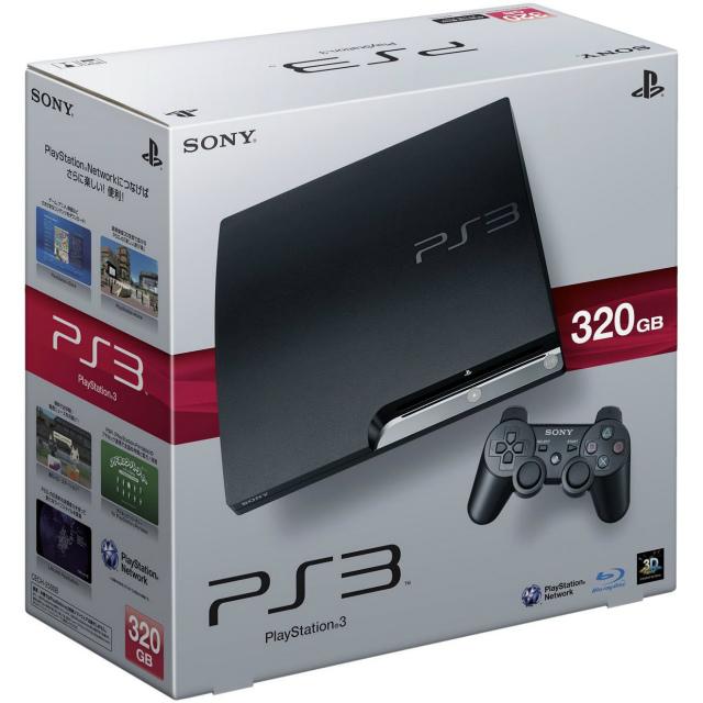 【中古】[本体][PS3]プレイステーション3 PlayStation3 HDD320GB チャコール・ブラック(CECH-2500B)(20100729)