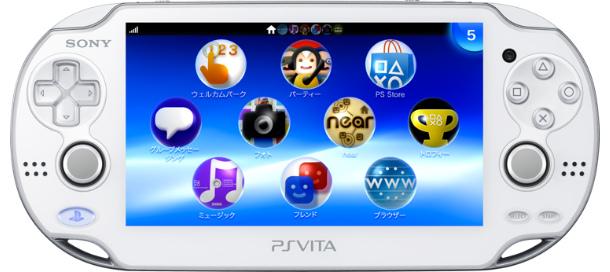【中古】【B品】[本体][PSVita]PlayStation Vita 3G/Wi-Fiモデル クリスタル・ホワイト(PCH-1100AB02)(20120628)