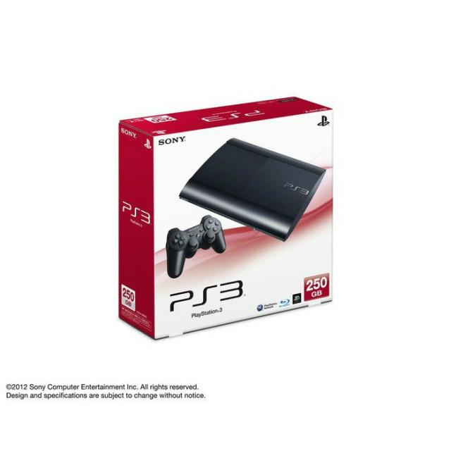 【中古】[本体][PS3]PlayStation3 プレイステーション3 HDD250GB チャコール・ブラック(CECH-4000B)(20121004)