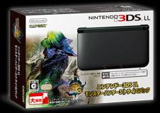 【中古】[本体][3DS]モンスターハンター3(トライ)G パック(SPR-S-KKDE)(ニンテンドー3DSLLブラック本体同梱)(20121101)