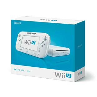 【中古】[本体][WiiU]Wii U ベーシックセット 白 BASIC SET Shiro(本体メモリー8GB)(WUP-S-WAAA)(20121208)