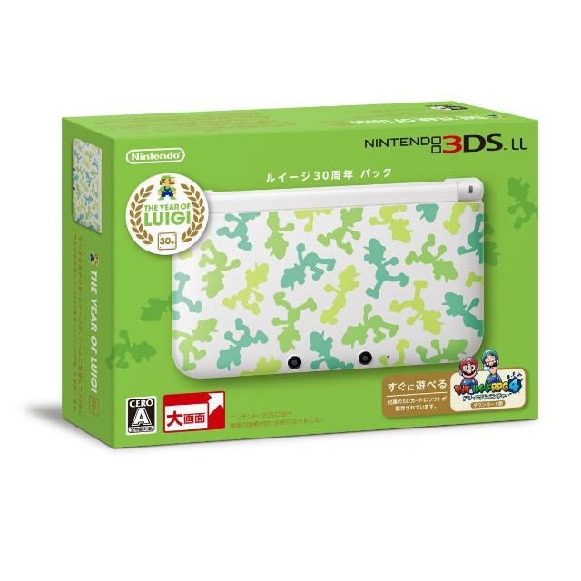 【中古】[本体][3DS]ルイージ30周年パック(SPR-S-WHDQ(JPN))(ニンテンドー3DSLL限定本体同梱)(20130718)